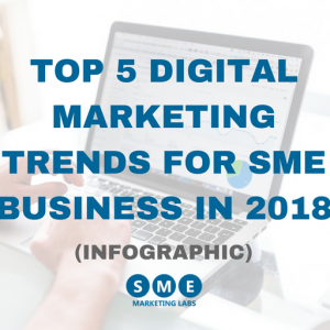 Top 5 Digital Marketing Trends For SME Business In 2018 Infographic